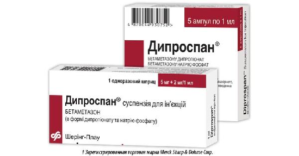 ДИПРОСПАН®† (DIPROSPAN®†)