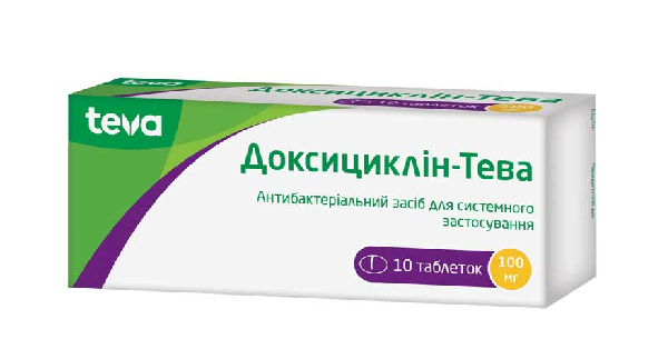 ДОКСИЦИКЛИН-ТЕВА (DOXYCYCLINE-TEVA)