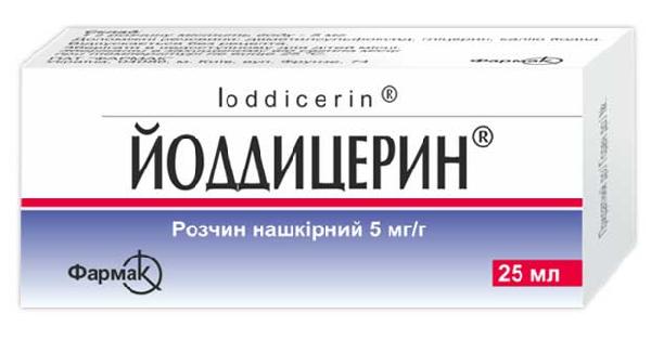 ЙОДДИЦЕРИН® (IODDICERINUM)