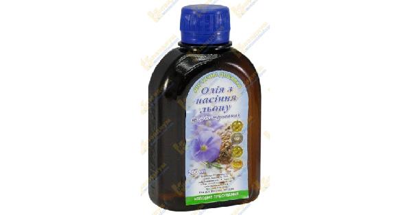Масло семян льна (Flax seed oil)