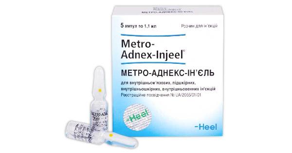 МЕТРО-АДНЕКС-ИНЪЕЛЬ (METRO-ADNEX-INJEEL®)