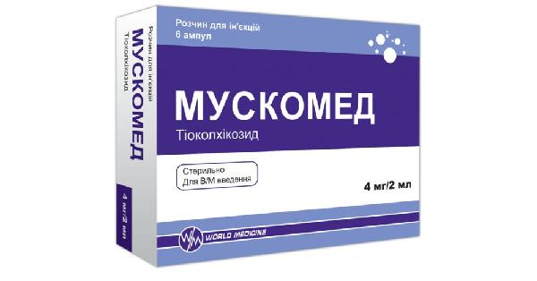 МУСКОМЕД раствор для инъекций (MUSKOMED solution for injections)