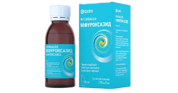 НИФУРОКСАЗИД (NIFUROXAZIDUM)