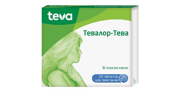 ТЕВАЛОР-ТЕВА (TEVALOR-TEVA)