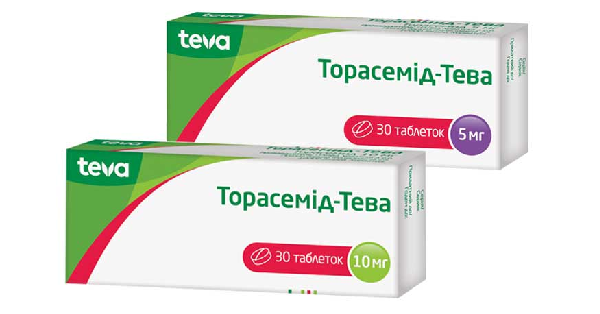 ТОРАСЕМИД-ТЕВА (TORASEMIDE-TEVA)