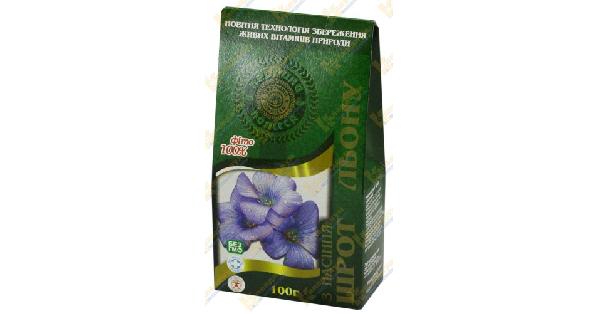 Шрот из семян льна (Oil cake from linen seeds)