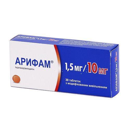 Арифам 1.5 мг /10 мг №30 таблетки_6006184d39559.jpeg
