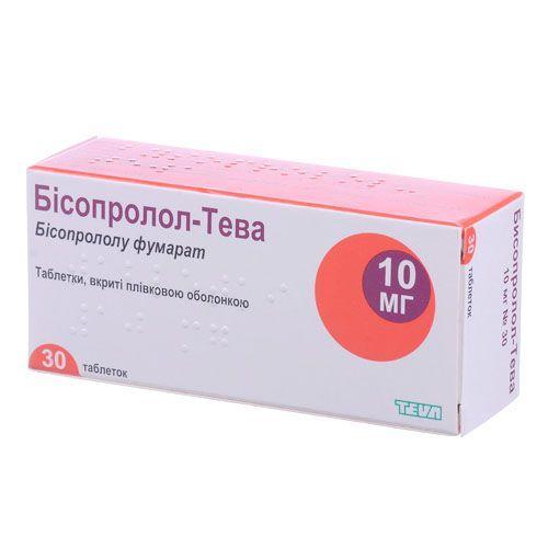 Бисопролол-Тева 10 мг №30 таблетки_60069e15e9d09.jpeg