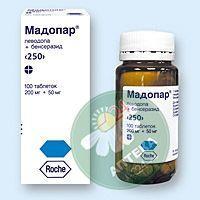 Мадопар 250 мг N100 таблетки_6005d2c42d46e.jpeg