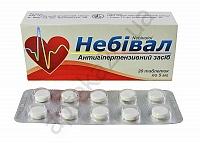 Небивал 5 мг N20 таблетки_60061438efd26.png