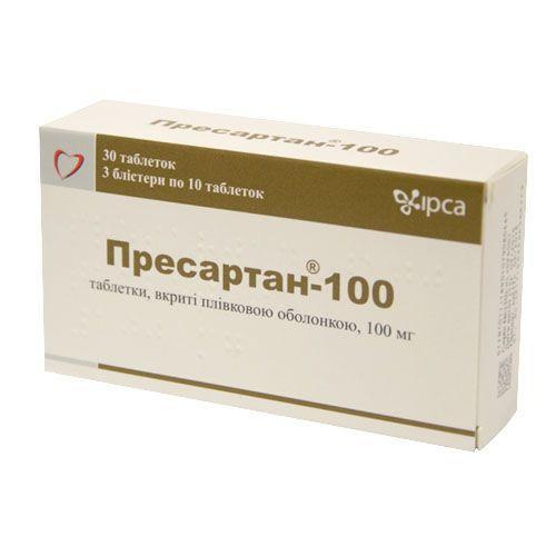 Пресартан-100 100 мг №30 таблетки_600817ebc9296.jpeg