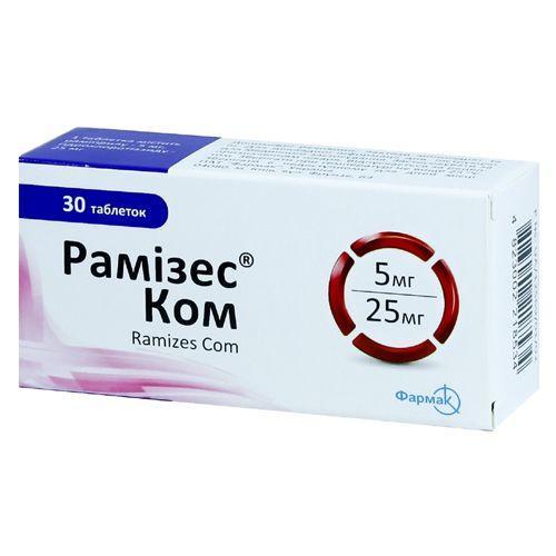 Рамизес Ком 10 мг/12,5 мг №30 таблетки_60069a3c9a270.jpeg