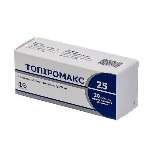 Топиромакс 25 мг №30 таблетки_6005d87113264.jpeg