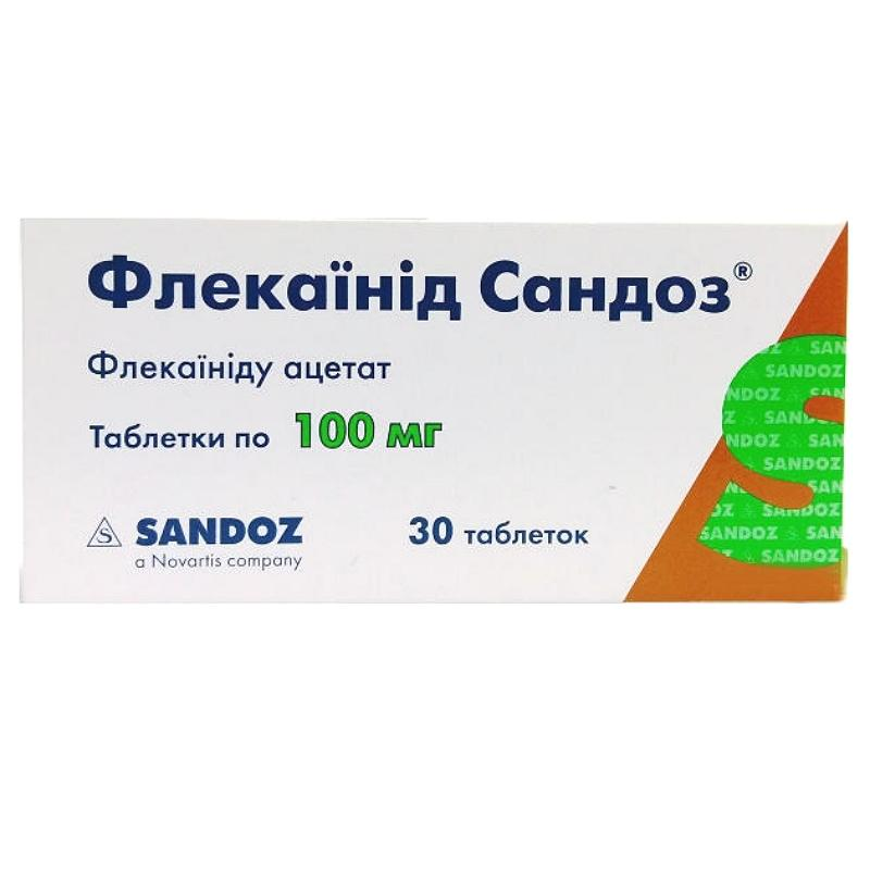 Флекаинид Сандоз 100 мг N30 таблетки_60069e2354de6.jpeg